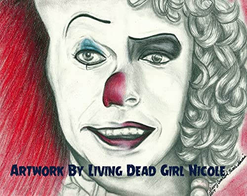 Amazon Com Portrait Drawing Art Print Penny Furter Stephen King It Pennywise Franken Furter Rocky Horror Picture Show Tim Curry Handmade