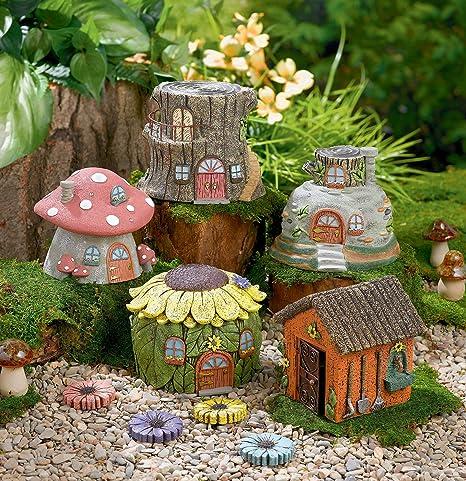 Grasslands Road Fairytale Garden Fairy House, One Individual, Random Choice
