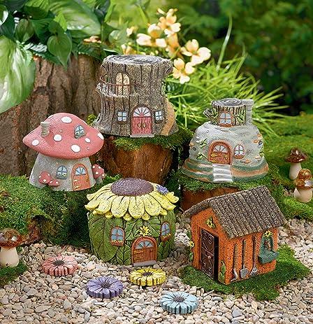 grasslands road fairytale garden fairy house one individual random choice