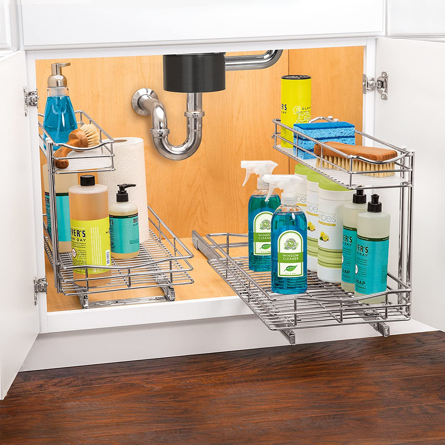 Amazon Lynk Professional Roll Out Under Sink Cabinet Organizer