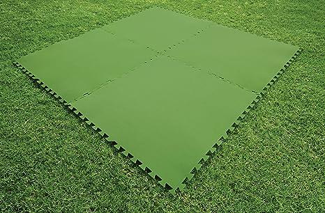 Bestway 58265 - Tapiz de Suelo de Goma 81x81 cm Verde: Amazon.es ...