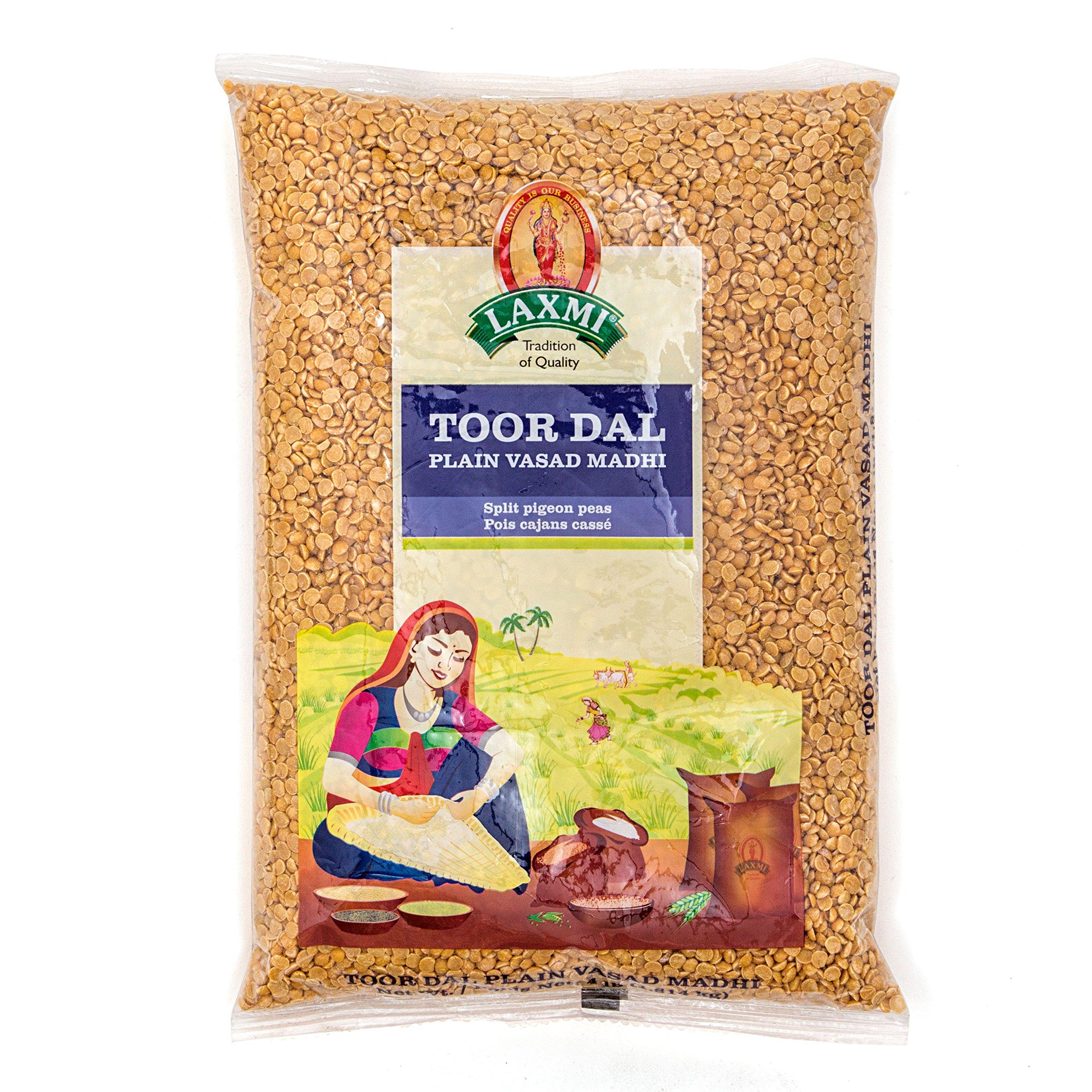 Laxmi Sona Masoori Rice & Laxmi Toor Dal Bundle - (10lb Rice and 4lb Dal) by Laxmi (Image #2)