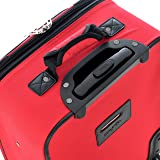 Olympia Let's Travel 2pc Carry-on Luggage Set, Red