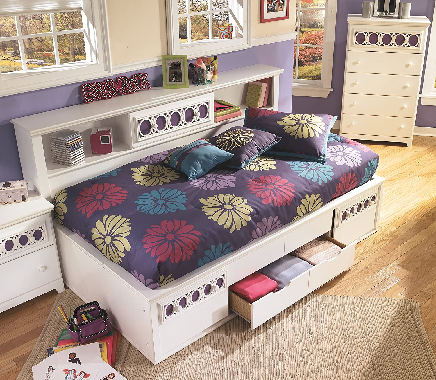 of flowers nice fabulous room girl dresser zayley bunk bed girls for dried