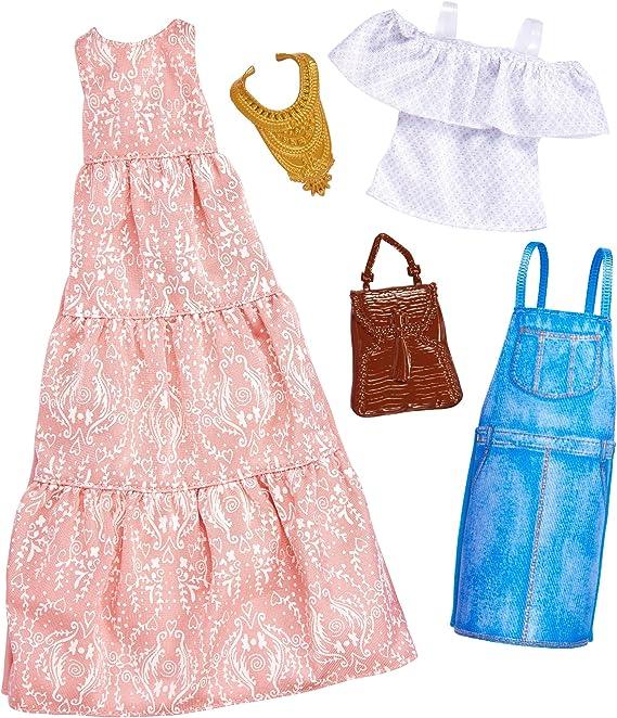 Amazon.es: Barbie Fashions 2-Pack Juego de ropita para muñeca ...