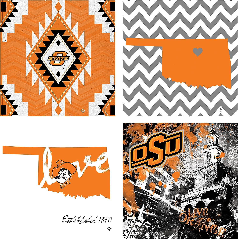 Thirstystone 4-Piece Oklahoma State University Spirit A/4 Coaster Set