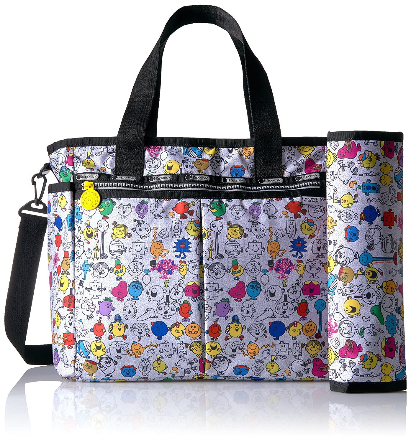 d0e84d414 Lesportsac X Mr. Men Little Miss Ryan Baby Tote Carry On Bag, MR. Men and  Little Miss, One Size: Amazon.ca: Luggage & Bags