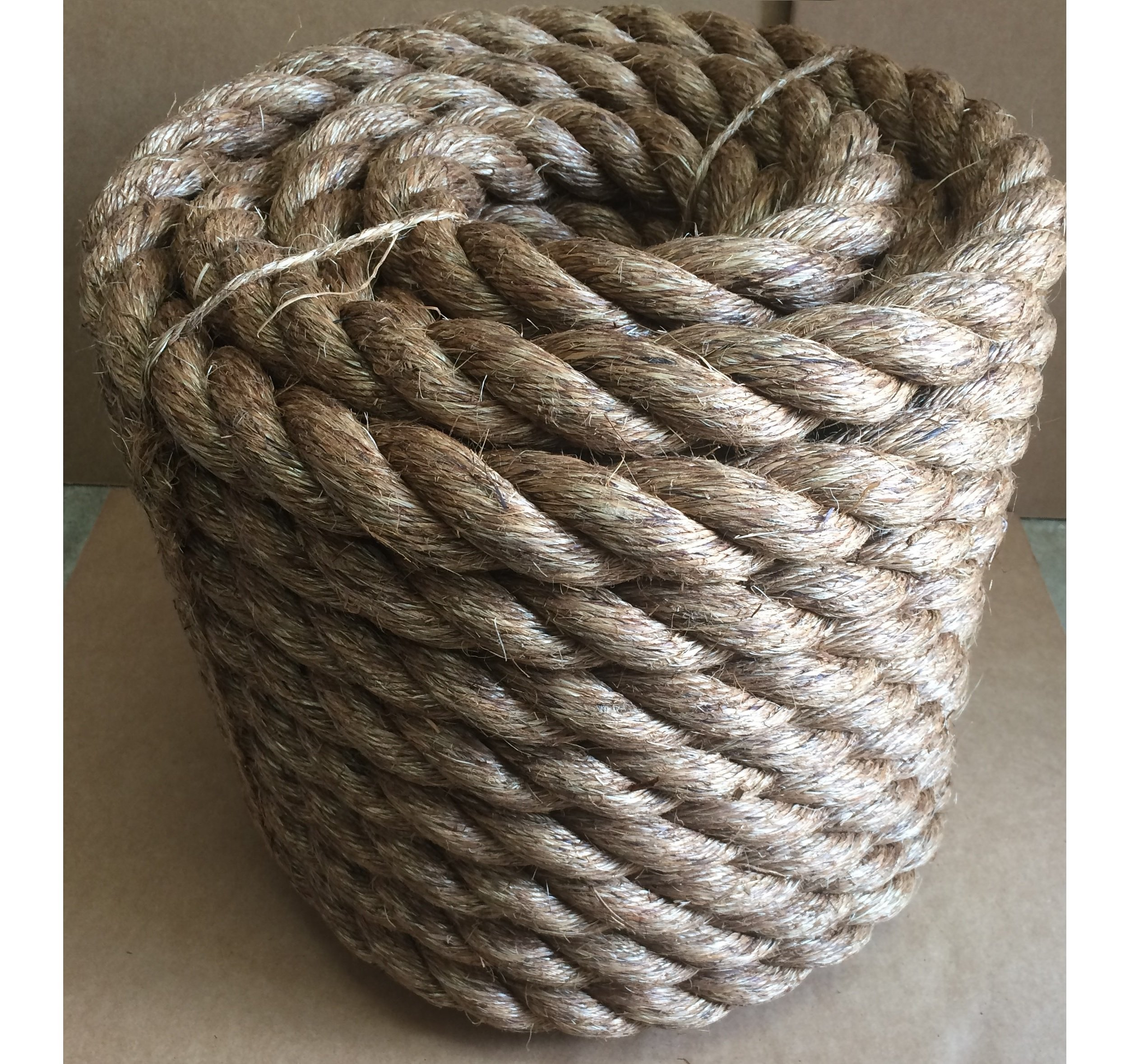 1-1/2'' X 100' (1.5'')MANILA ROPE Boat docks Tree Farm Crafts FITNESS EXERCISE UNDULATION by Rushazzled