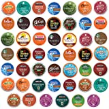 K Cups coffee pods variety pack, Premium sampler, Keurig single serve (48 Count)