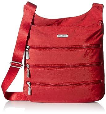 5630fbf261 Baggallini Big Zipper Travel Crossbody Bag