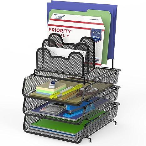 Amazon.com: SimpleHouseware - Bandeja para documentos de ...
