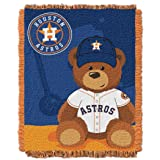 "The Northwest Company MLB Houston Astros Field Bear Woven Jacquard Baby Throw, 36"" x 46"