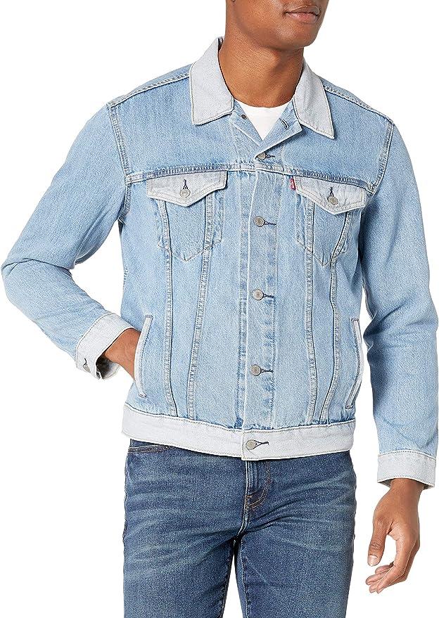 销量第一 Levi's 李维斯 经典款 男式牛仔夹克 牛仔服 XL码2.8折$24.95 海淘转运到手约¥235
