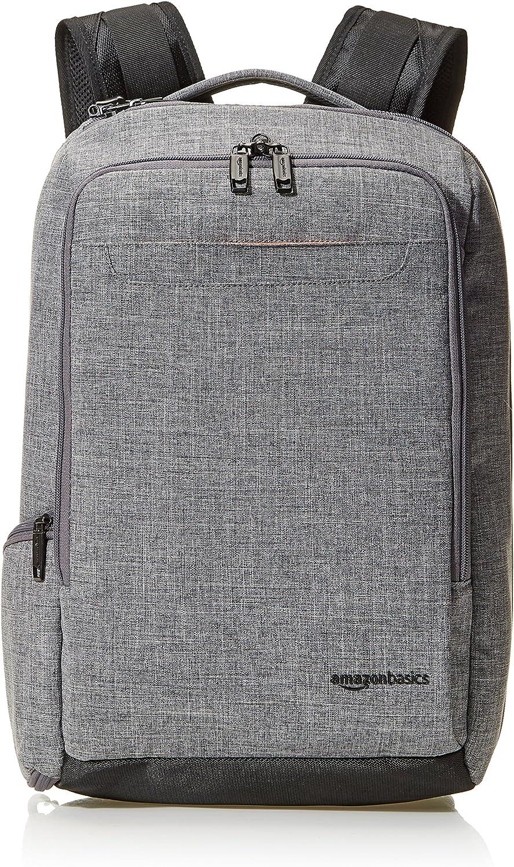 Amazon Basics Schlanker Reiserucksack Grau Overnight Koffer Rucksäcke Taschen