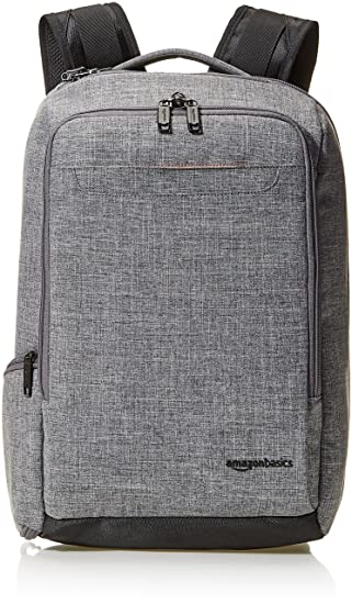 Amazon Basics Slim Carry On Travel Backpack by Amazon Basics