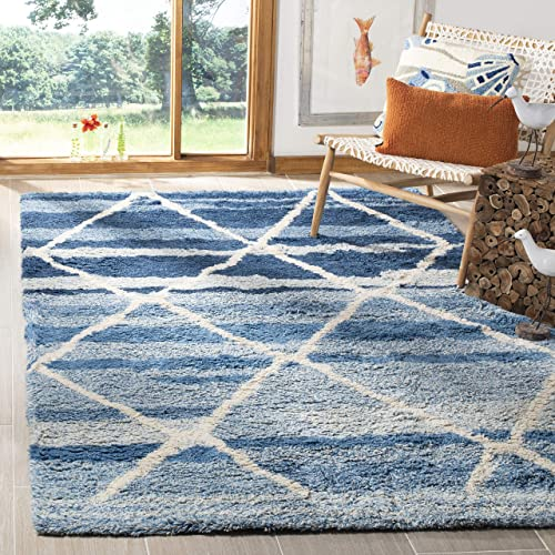 Safavieh CSB250M-5 Area Rug 5' x 8' Blue