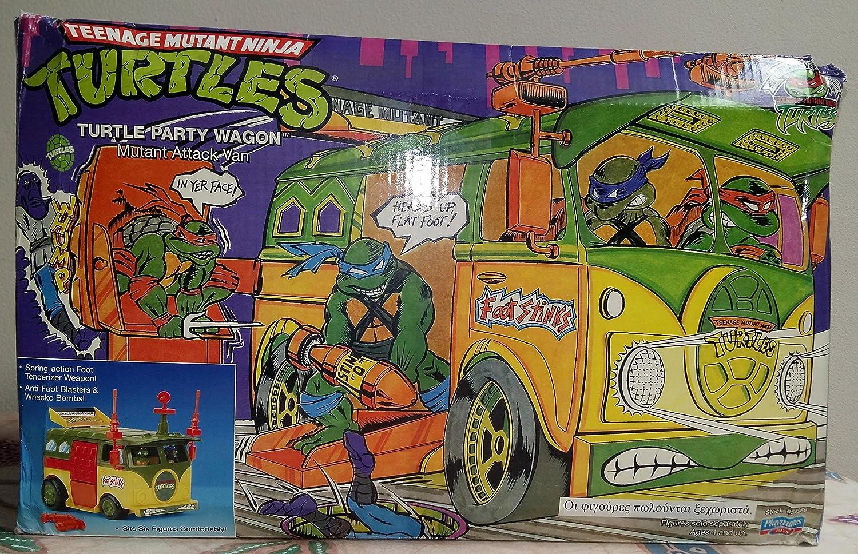 Amazon.com: Tortuga Party Wagon Teenage Mutant Ninja Turtles ...
