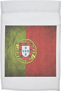 3dRose fl_28281_1 Portugal Garden Flag, 12 by 18-Inch