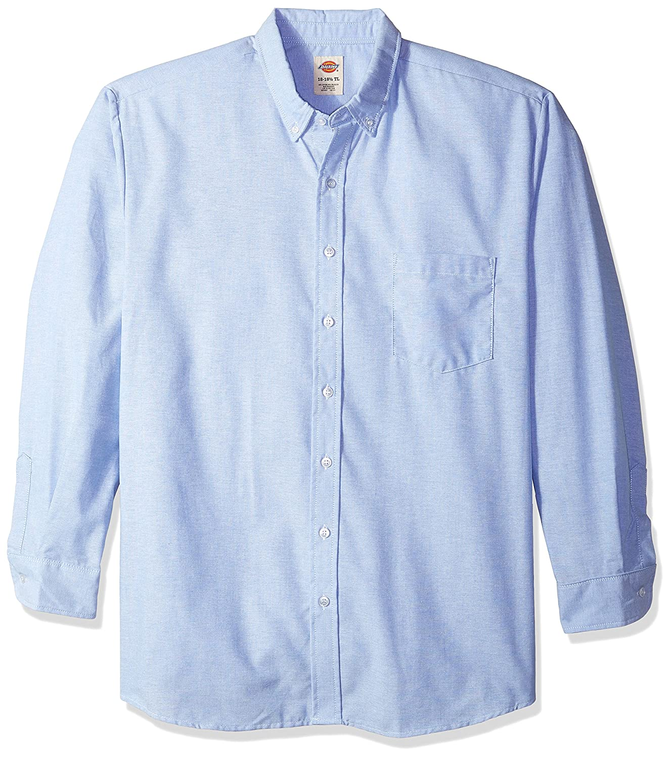 afa2a416518 Top1  Dickies Occupational Workwear Polyester  Cotton Men s Button-Down  Long Sleeve Oxford Shirt