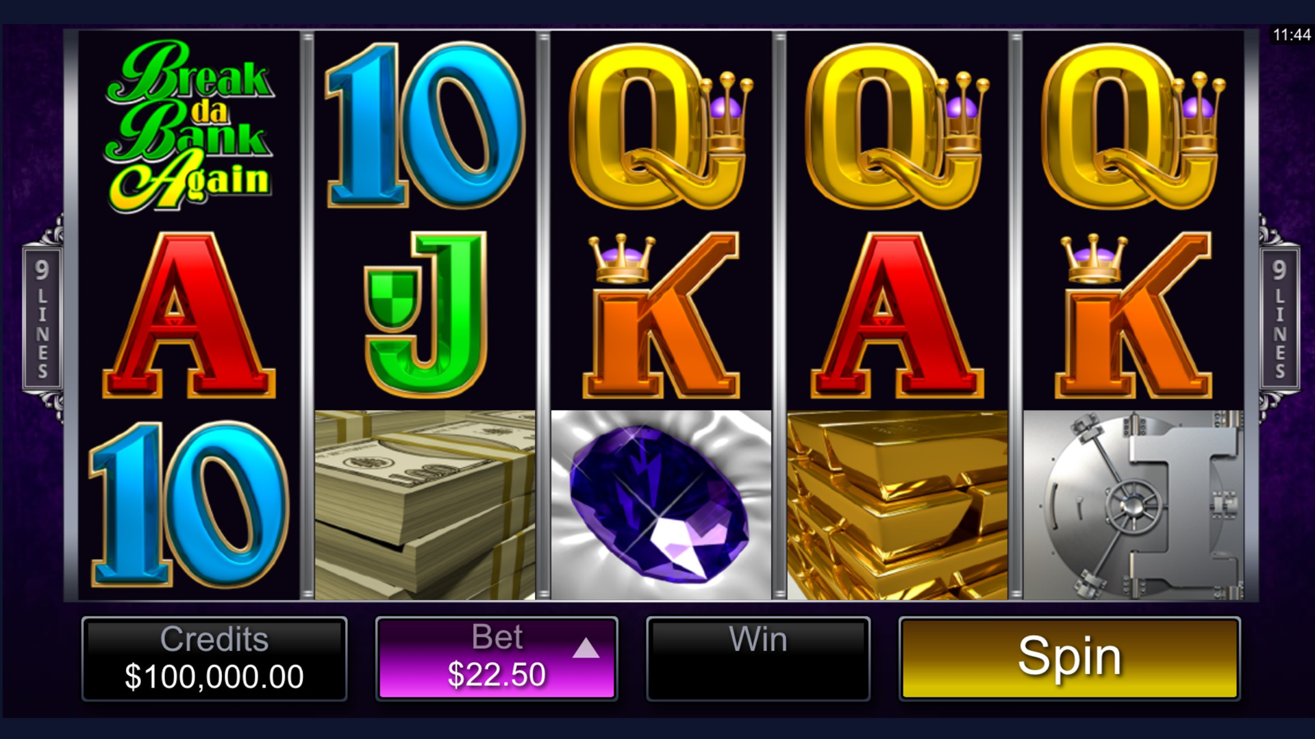 Break da Bank Again Video Slot – Free Online Casino Game