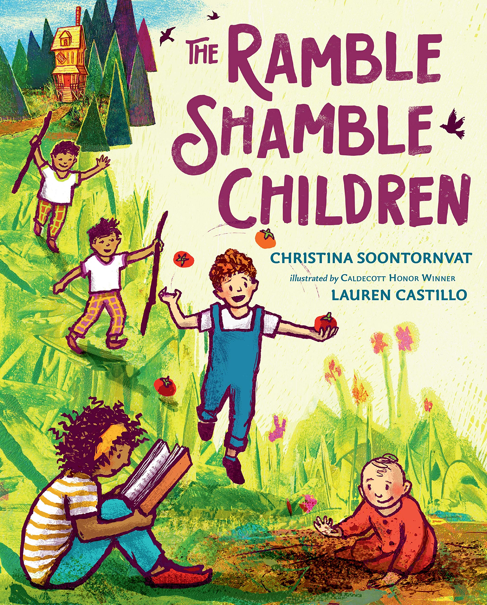 The Ramble Shamble Children: Soontornvat, Christina, Castillo, Lauren:  9780399176326: Amazon.com: Books