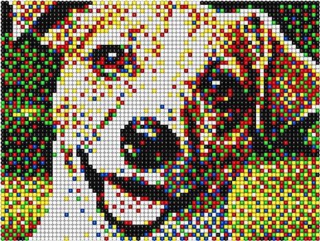 Quercetti 0805 Pixel Art 4 Tav Amazonfr Jeux Et Jouets
