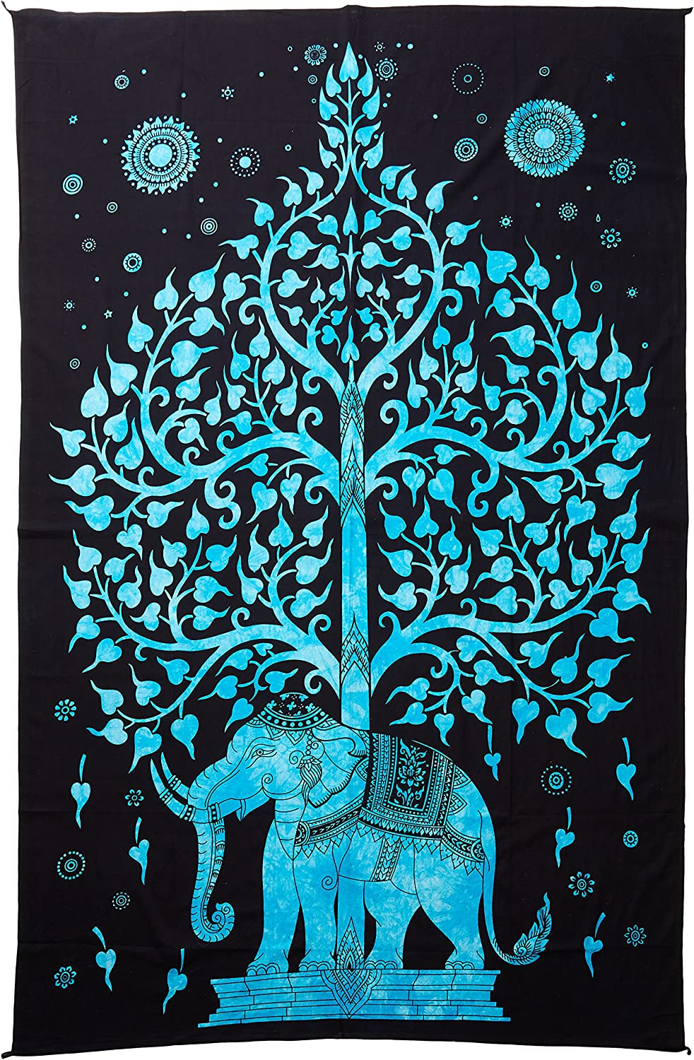 Decorative New Tree Elephant Hanging Wall Tapestry Mat Rug Home Blanket Charm