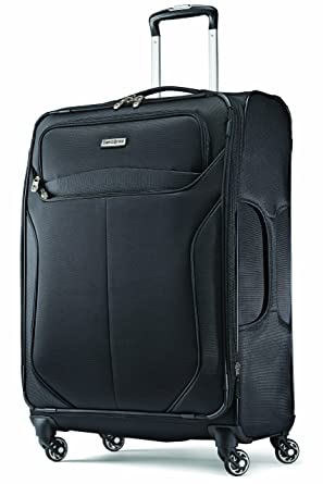 Amazon.com | Samsonite Luggage Lift Spinner 25 Suitcases, Black ...