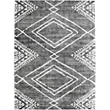ReaLife Machine Washable Rug - Stain Resistant, Non-Shed - Eco-Friendly, Non-Slip, Family & Pet Friendly - Made from Premium