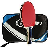 senston Batuffolo Da Ping Pong Omologato ITTF, Racchetta Da Ping Pong Professionale con Custodia (Manico Lungo)