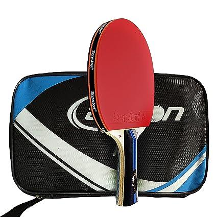 Amazon.com: Senston ITTF tenis de mesa bate, profesional ...