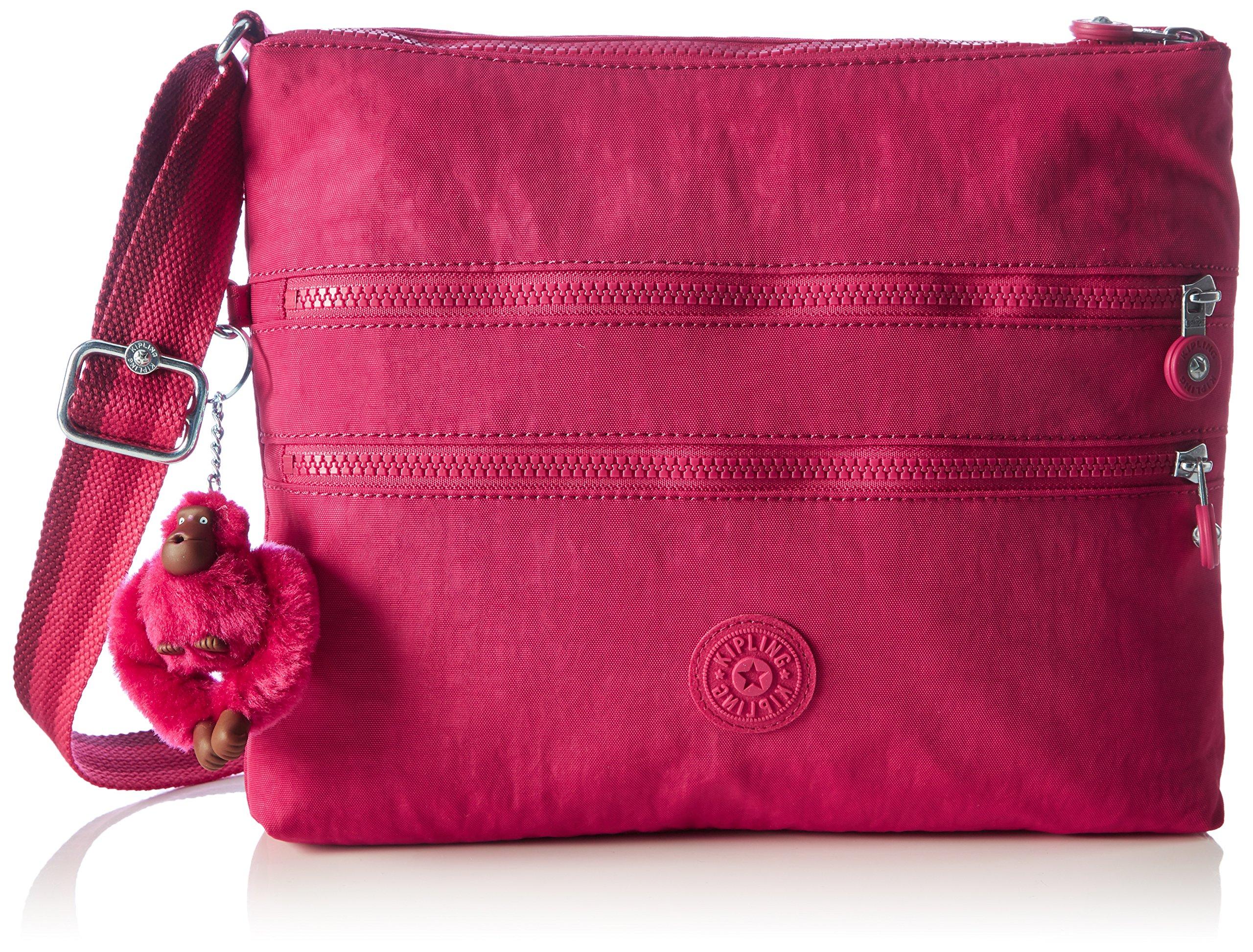 Kipling Womens Alvar Cross-Body Bag Pink (Cherry Pink C)