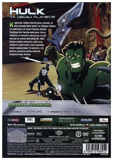 Planet Hulk DVD Region 2 IMPORT No hay versión española ...