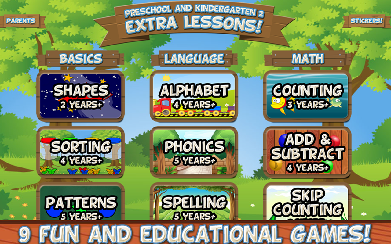 Amazon Preschool And Kindergarten 2 Extra Lessons Full Version Appstore For Android
