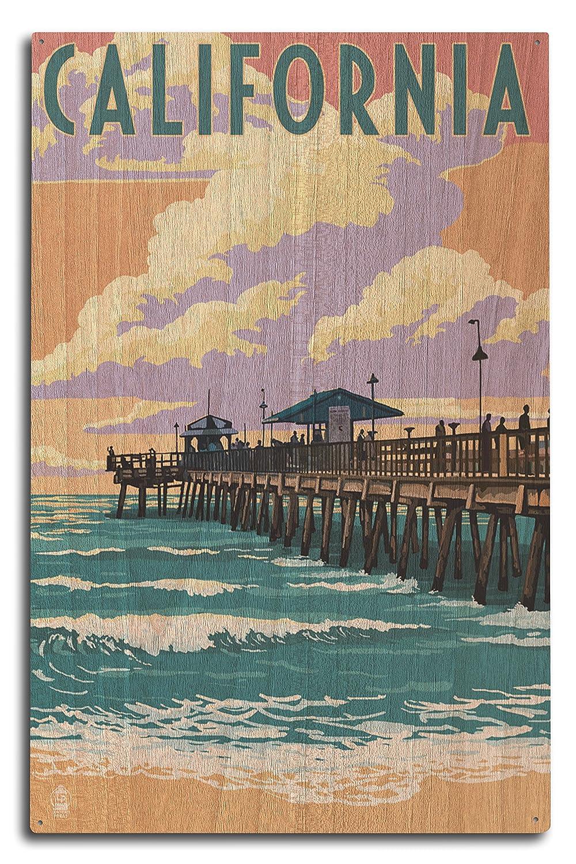 【お得】 カリフォルニア Pierシーン – Pierシーン 10 15 Canvas Tote Bag LANT-45799-TT B07368WLXW 10 x 15 Wood Sign 10 x 15 Wood Sign, オールジュエリー:61dfd425 --- arianechie.dominiotemporario.com