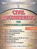 Objective Type Questions & Answers In Civil Engineering for Competitions & Interviews