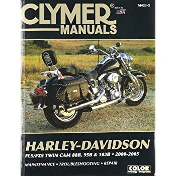 amazon com clymer repair manual for harley softail twin cam 88 00 rh amazon com 2006 Harley Dyna Wide Glide Harley-Davidson Softail Classic
