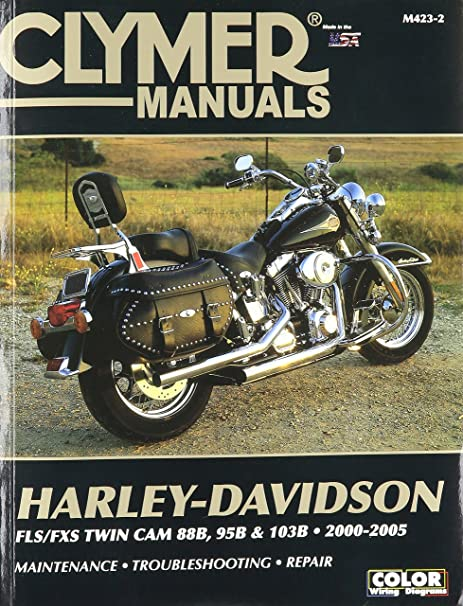amazon com clymer repair manual for harley softail twin cam 88 00 rh amazon com 2007 Harley-Davidson Fatboy Review 2007 harley davidson fatboy service manual