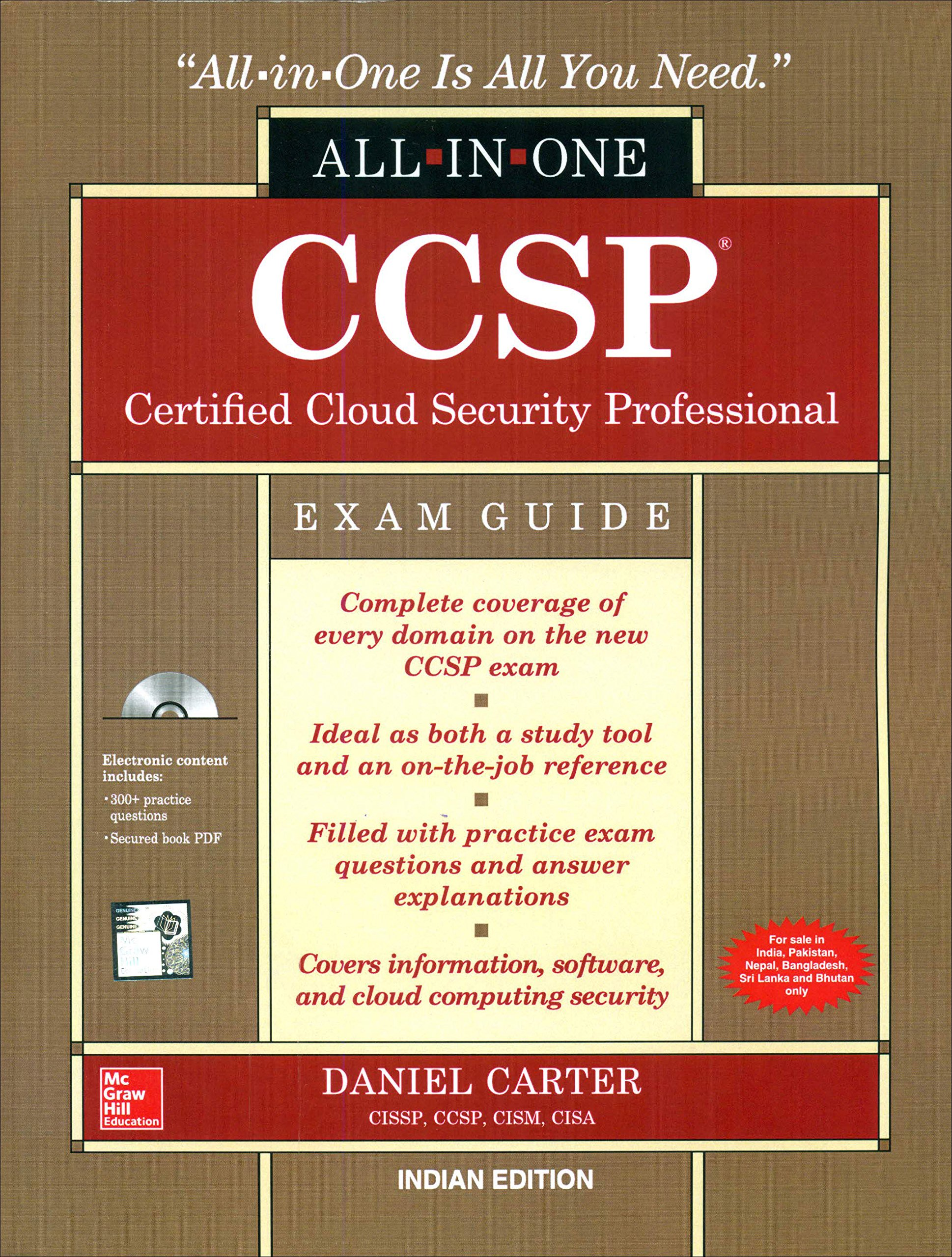 Buy ccsp certified cloud security professional all in one exam buy ccsp certified cloud security professional all in one exam guide book online at low prices in india ccsp certified cloud security professional 1betcityfo Image collections
