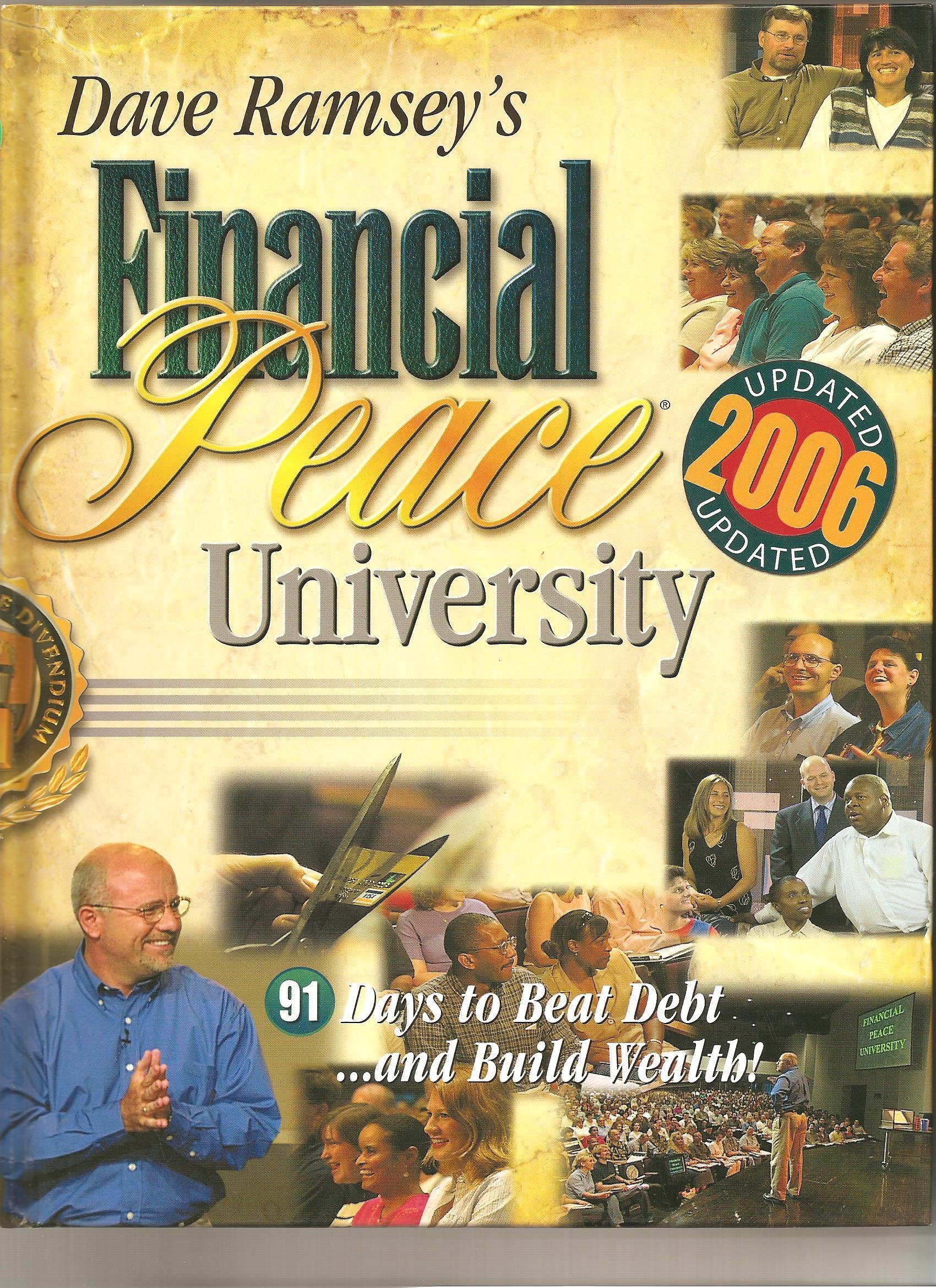 Dave Ramseys Financial Peace University 91 Days to Beat Debt and – Financial Peace Worksheets