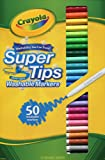 Crayola 50 Washable Supertips