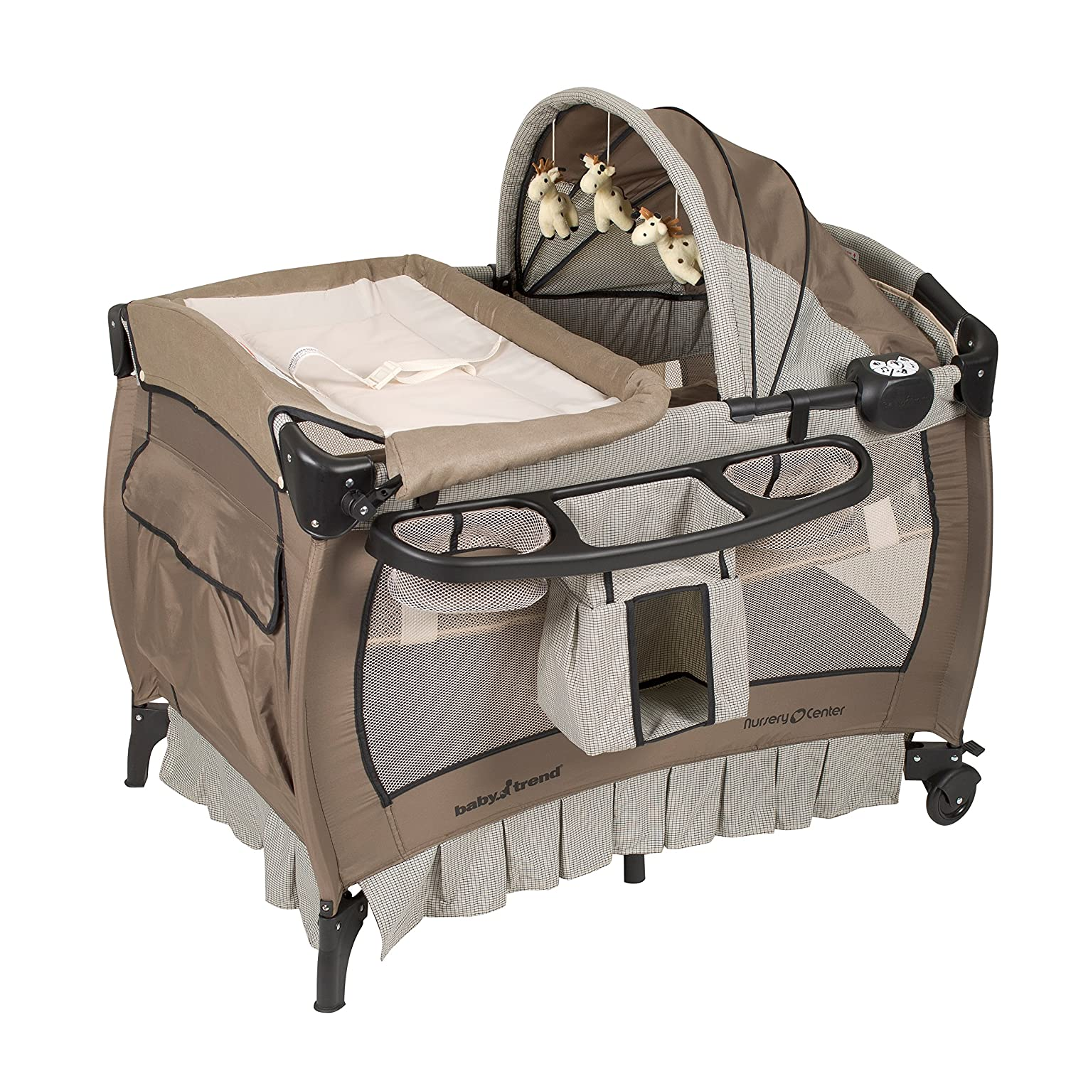 Baby Trend Deluxe Nursery Center, Haven Wood 8274BCC