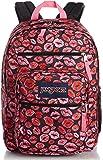 JanSport Big Student Classics Series Backpack - BLACK KISS ME QUICK