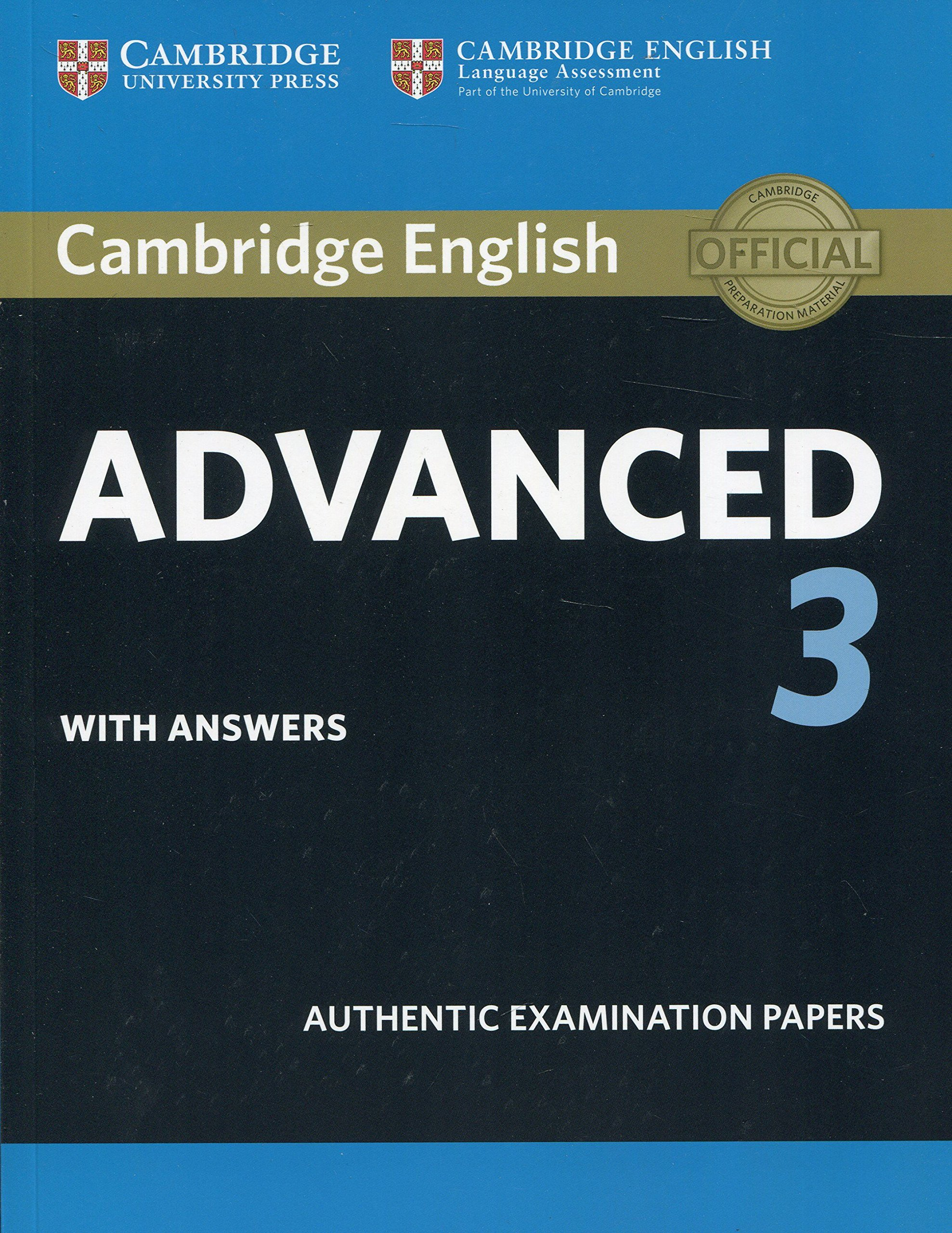 Cambridge English Advanced 3. Students Book with answers CAE ...