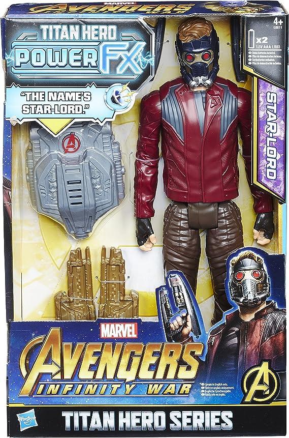 Hasbro Avengers e0611ew0 – Marvel Titan Hero Star de Lord Figura ...
