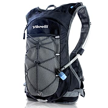 Amazon.com : Vibrelli Hydration Pack & 2L Hydration Bladder - High ...