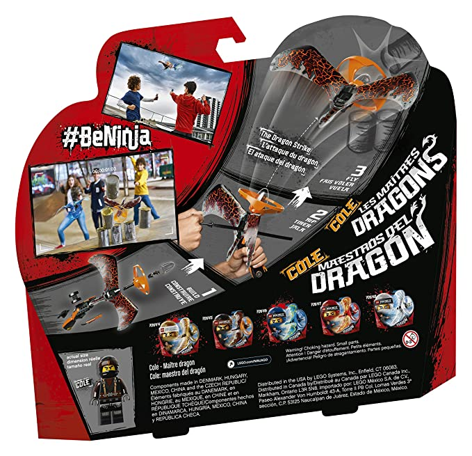 Lego Ninjago Cole Dragon Masters 70645 (92 Teile): Amazon.es ...