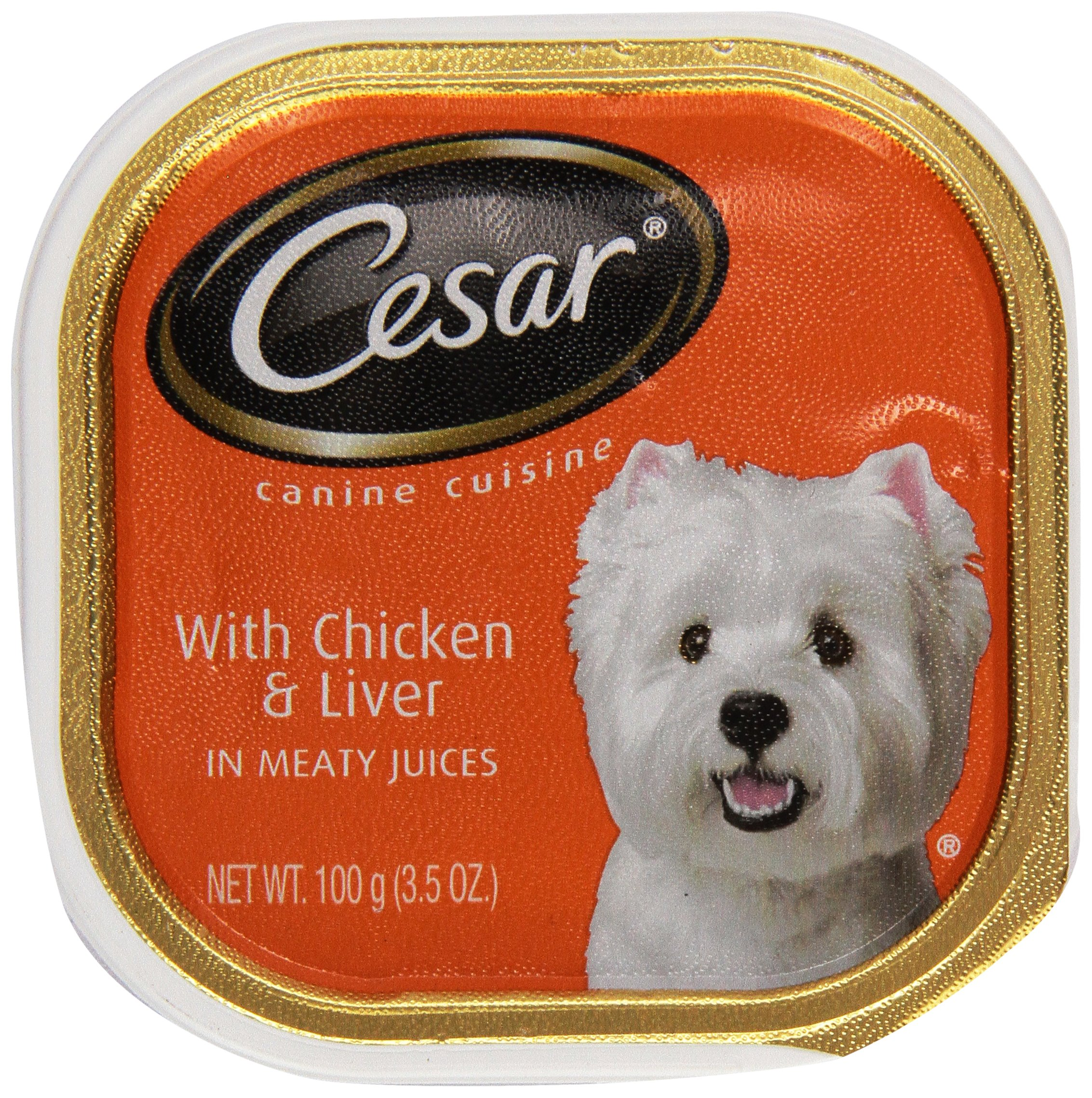 Mars Pet Care Mars Cesar Cuisine Chicken/Liver 3.5 oz Cans, 1 Count, One Size