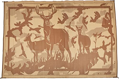 Ming s Mark Inc. HC8117 Mat Camo Deer 8 X 11