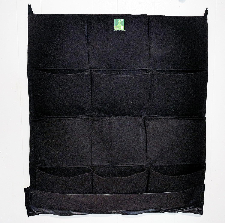 Amazon.com : INDOOR Waterproof 12 Pocket Vertical Living Green Wall Planter  : Garden U0026 Outdoor